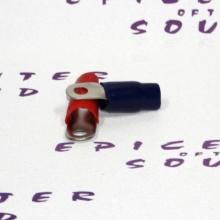 Клемма круглая Pride 2Ga CON35 (красная+чёрная)